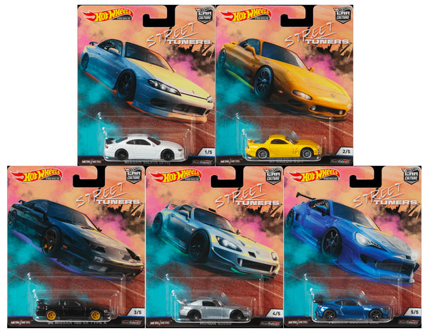 Hot Wheels Car Culture Street Tuners Case FPY86-956L