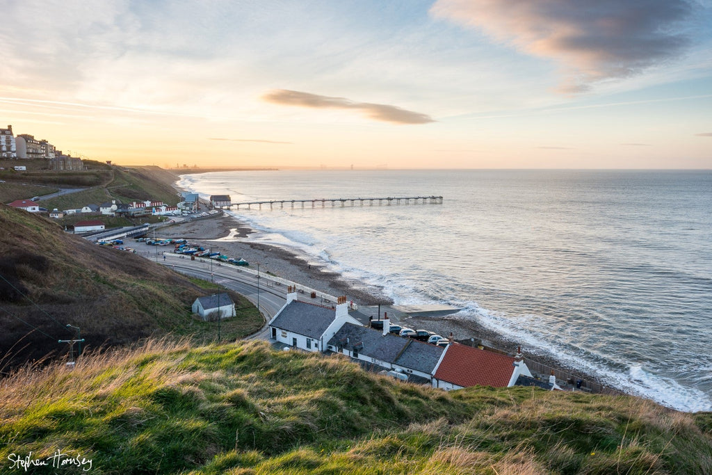 A Spring Evening at Saltburn