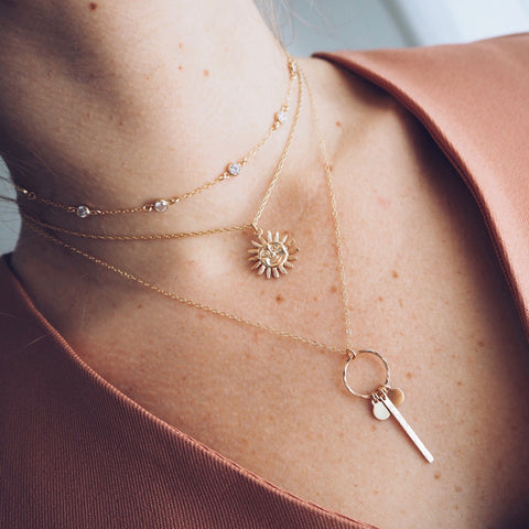 239a0dd8d How We Currently Love to Layer Our Chokers and Necklaces