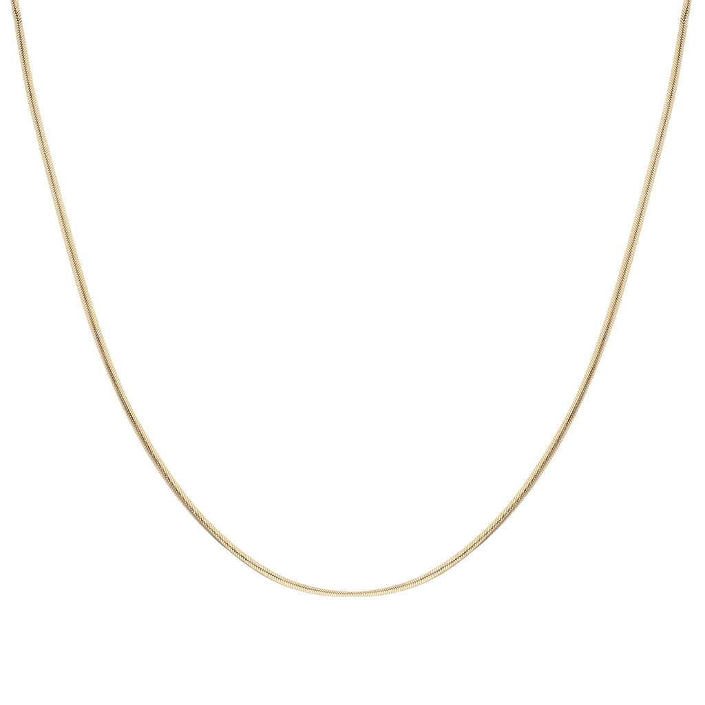 2mm Snake Chain Necklace