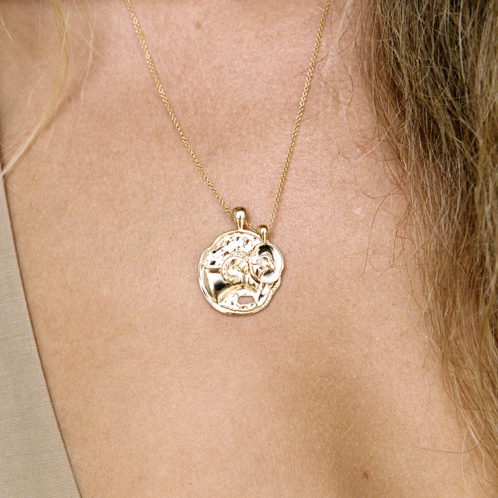 Aries II Necklace - Sterling Silver