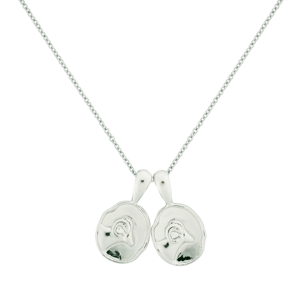 Aries II Necklace - Sterling Silver | 2 Small
