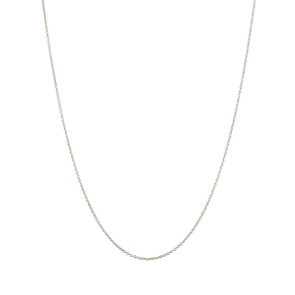 Cable Chain Necklace - Sterling Silver