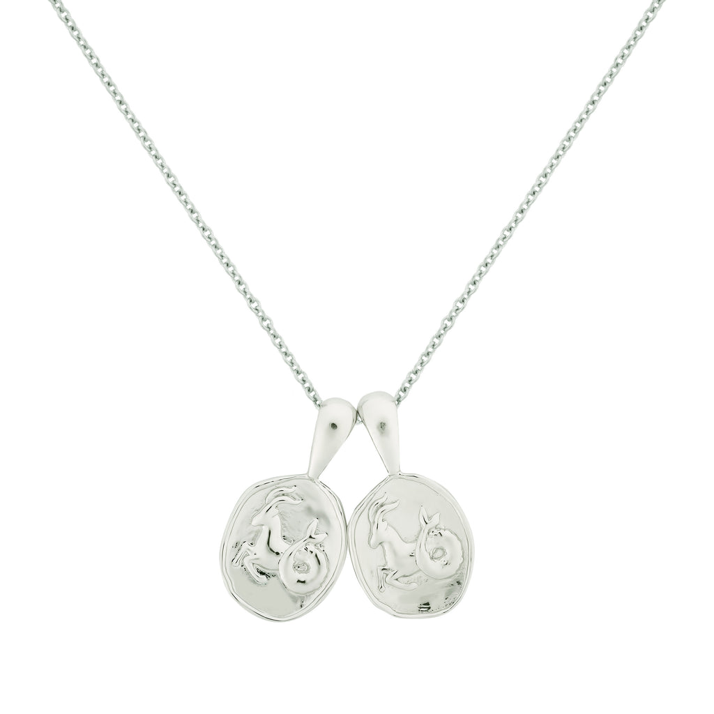 Capricorn II Necklace - Sterling Silver | 2 Small