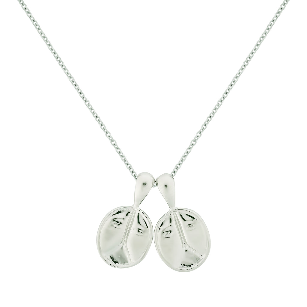 Gemini II Necklace - Sterling Silver | 2 Small