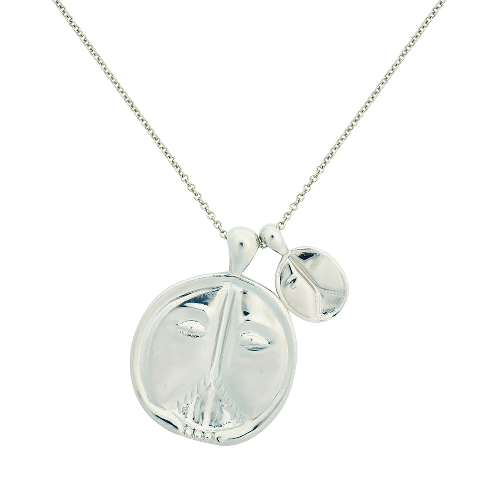 Gemini II Necklace - Sterling Silver