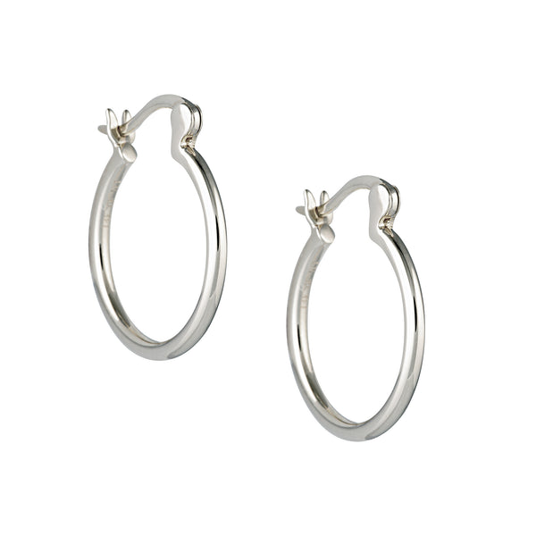 Infinite Hoops Sterling Silver