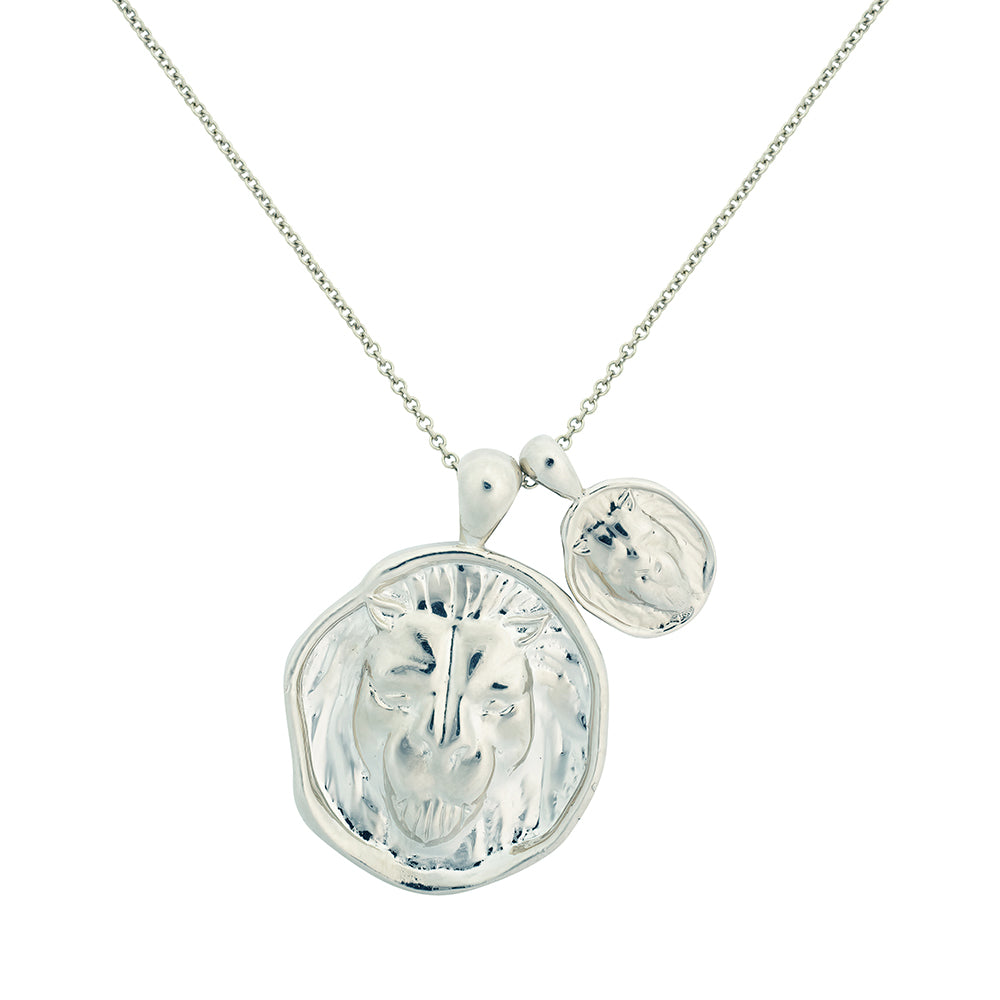 Leo II Necklace - Sterling Silver
