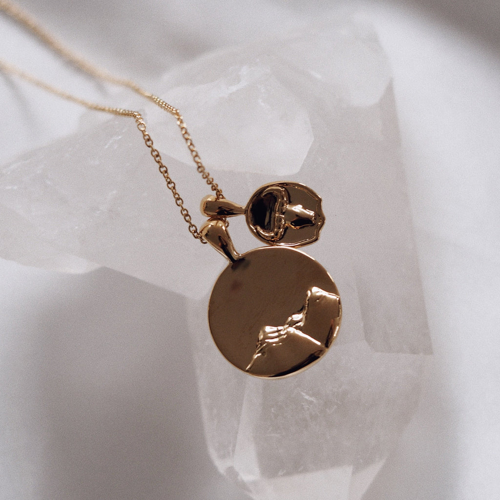 Earth x Taurus Necklace - Sterling Silver