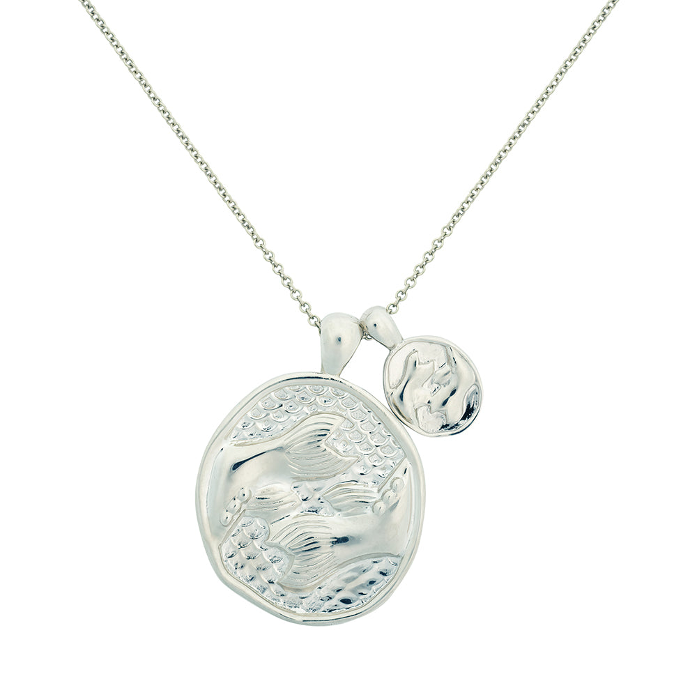 Pisces II Necklace - Sterling Silver