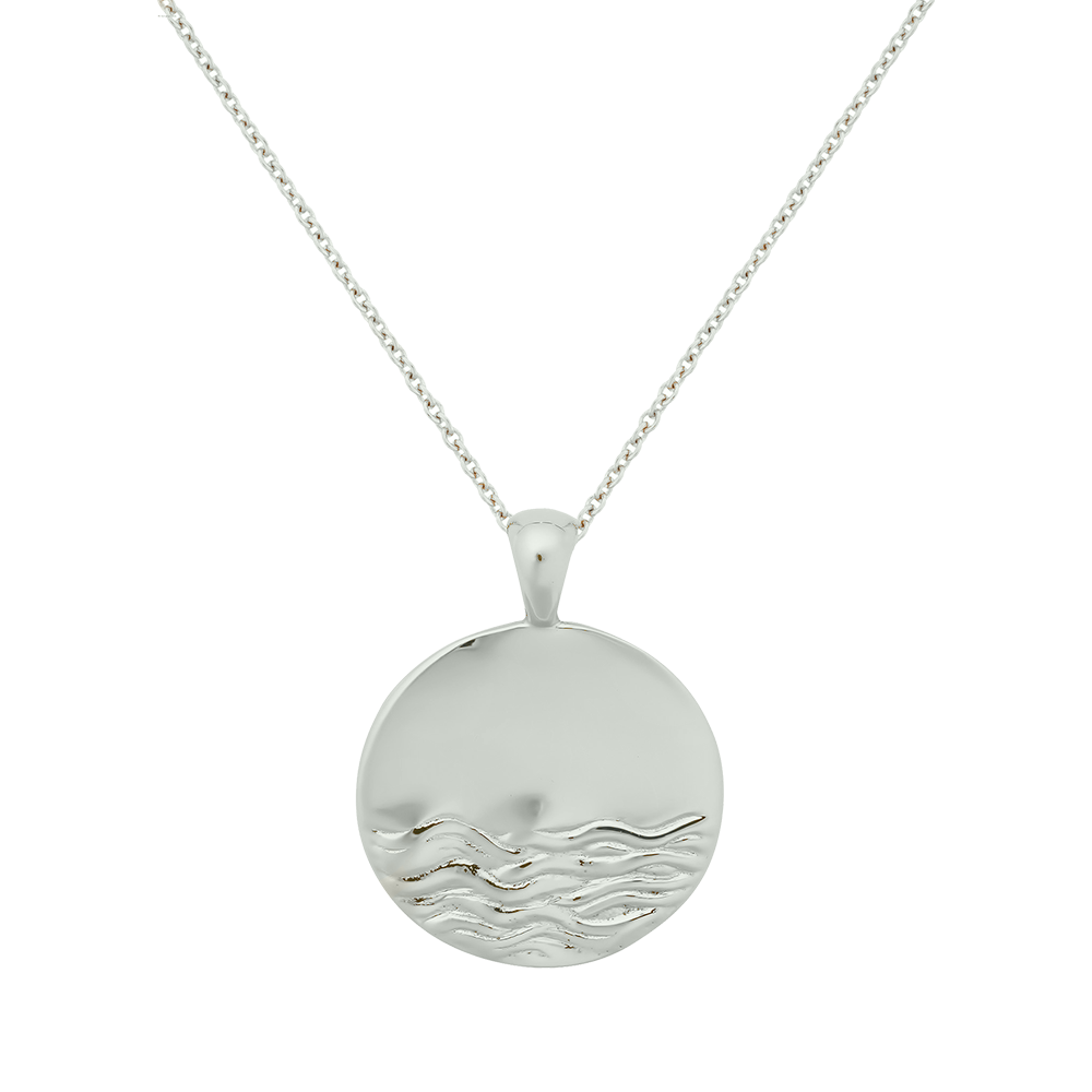 Water Element Necklace - Sterling Silver