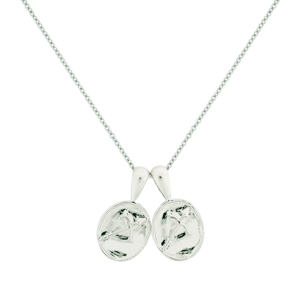 Sagittarius II Necklace - Sterling Silver | 2 Small