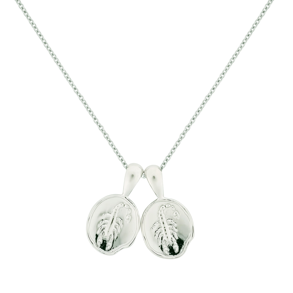 Scorpio II Necklace - Sterling Silver | 2 Small