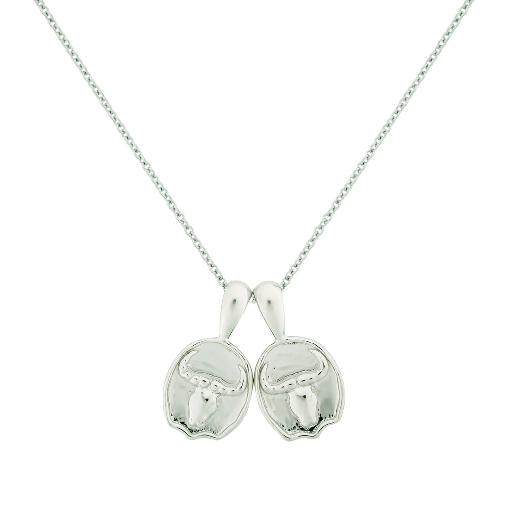 Taurus II Necklace - Sterling Silver | 2 Small