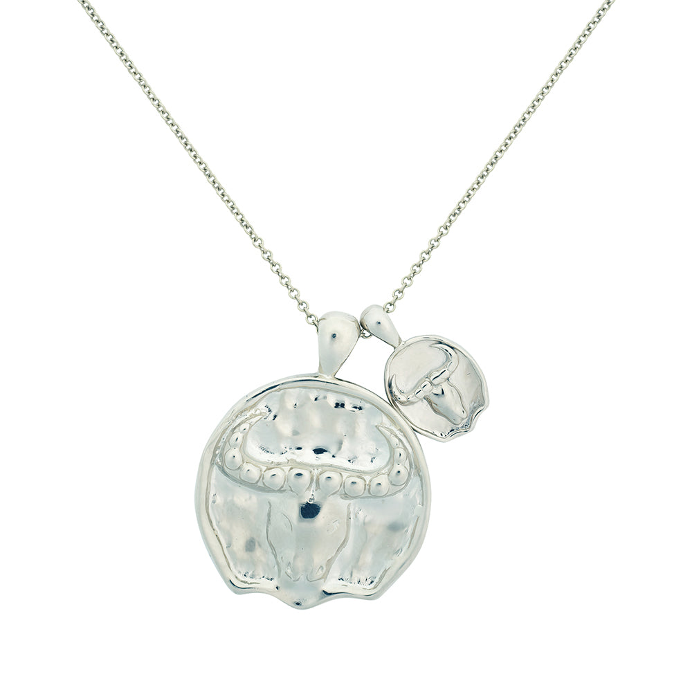Taurus II Necklace - Sterling Silver