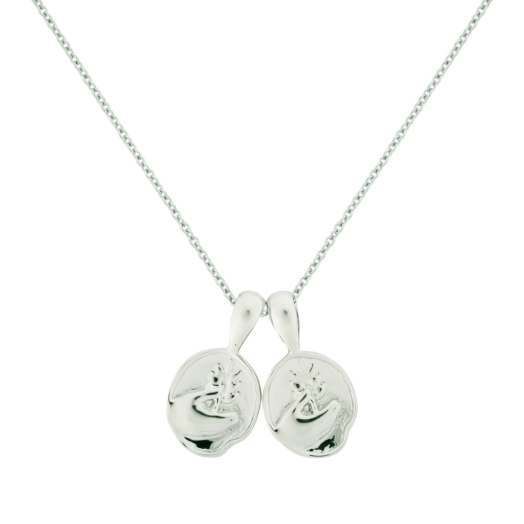 Virgo II Necklace - Sterling Silver | 2 Small