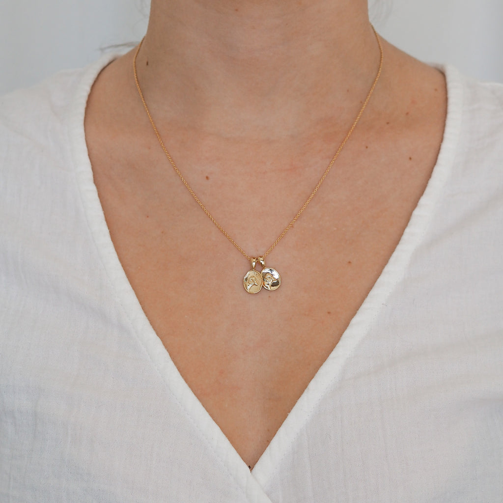 Aries II Necklace | 2 Small