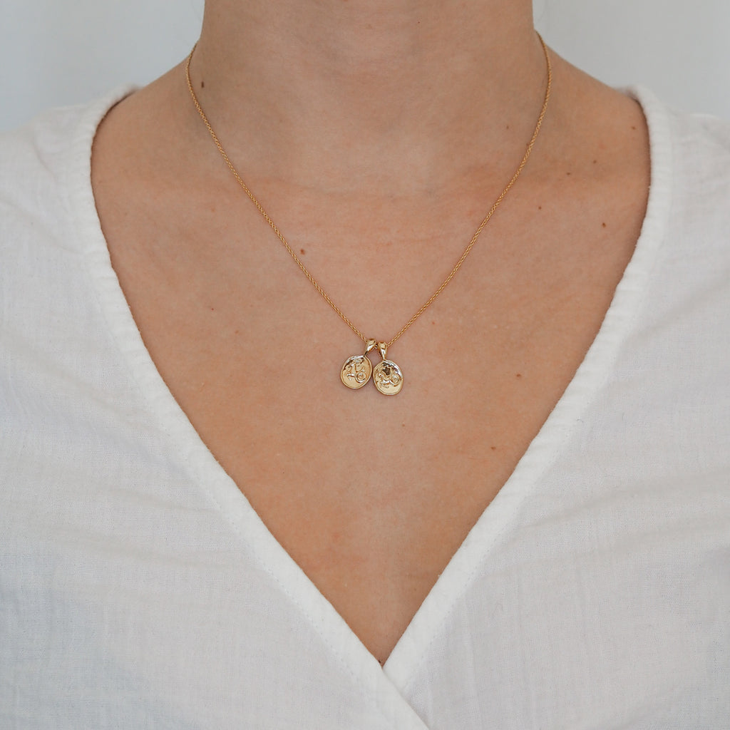 Capricorn II Necklace | 2 Small