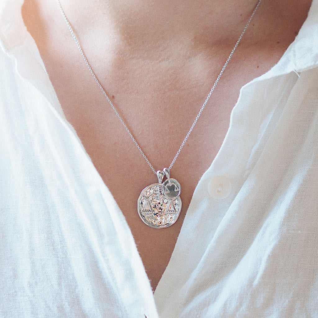 Libra II Necklace - Sterling Silver