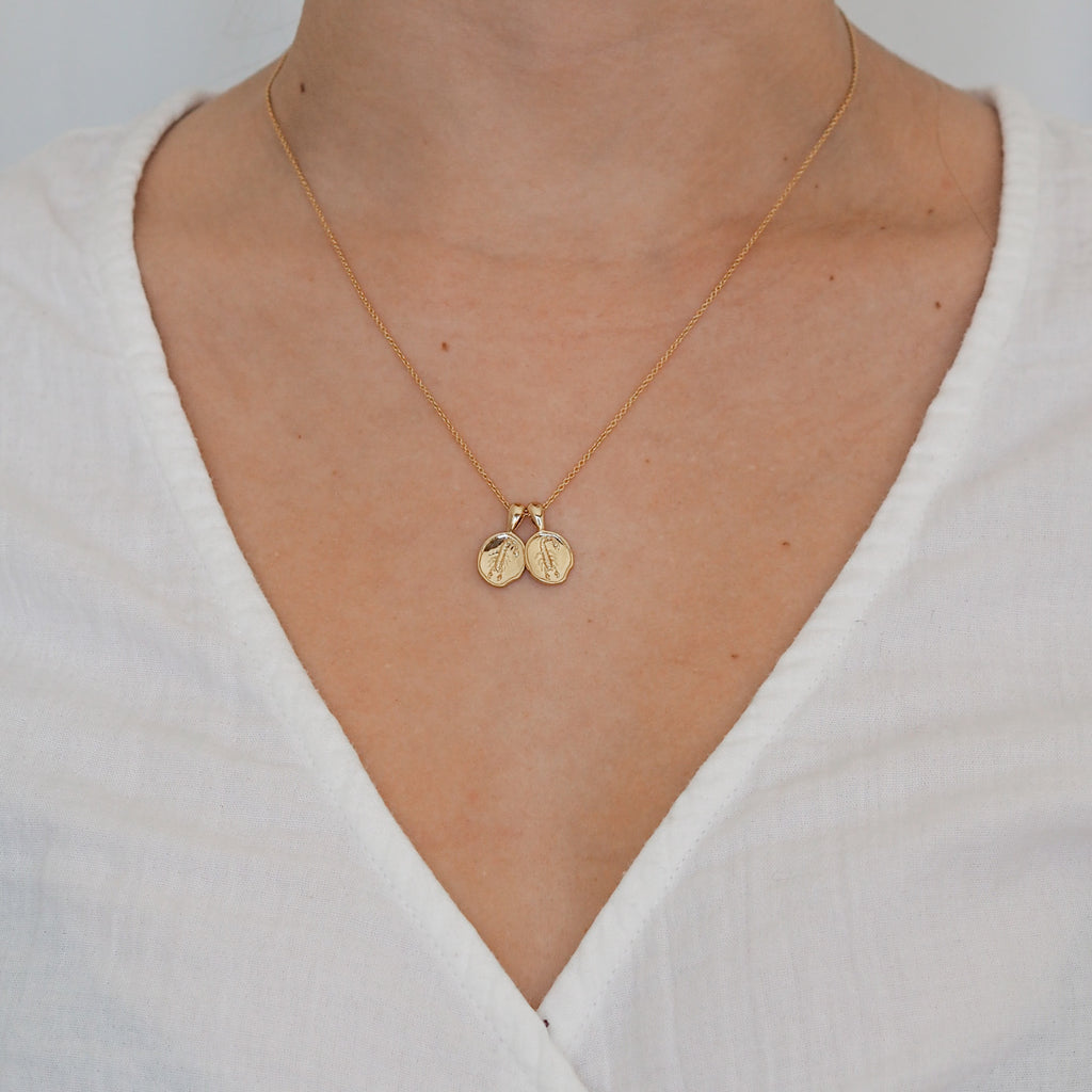 Scorpio II Necklace | 2 Small