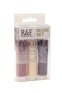 R&F PIGMENT STICKS - Half Stick Begin Set
