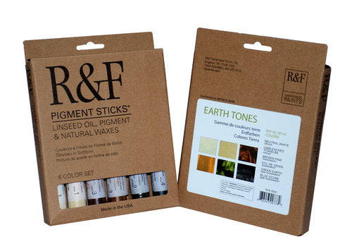 R&F PIGMENT STICKS - Earth Tones Set