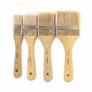 Hog hair brush, natural fibre paint brush for encaustic painting, delivery Australia wide.