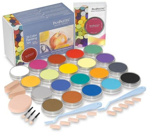 PanPastel Set of 20 with FREE Palette Tray