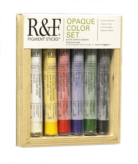 R&F PIGMENT STICKS - Opaque Color Set