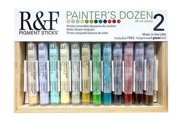 R&F PIGMENT STICKS - Painters Dozen 2