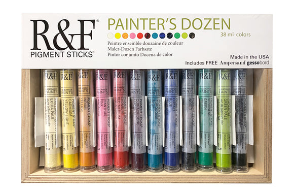 R&F PIGMENT STICKS - Painters Dozen