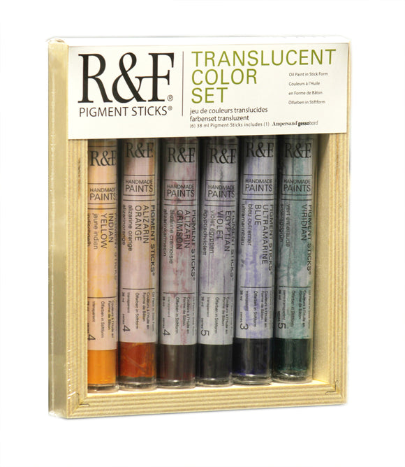 R&F PIGMENT STICKS - Translucent Color Set