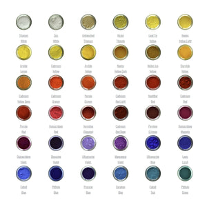 Langridge Dry Ground Pigment (120ml) - Click to see full range of colours