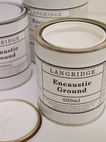 Encaustic Ground (Gesso)