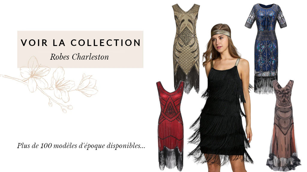 collection de robes charleston