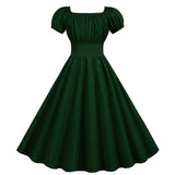 Robe Verte Pin Up  - Keith Vintage