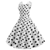 Robe Pin Up Pois  - Darcy Vintage