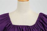 Robe Violette Pin Up  - Juliet Vintage