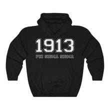Load image into Gallery viewer, Phi Sigma Sigma Founding Year Hoodie (Black)