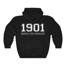 Load image into Gallery viewer, Sigma Phi Epsilon Founding Year Hoodie (Black)