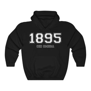 Chi Omega Founding Year Hoodie (Black)