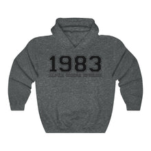 Load image into Gallery viewer, Alpha Omega Epsilon Founding Year Hoodie (Dark Heather)