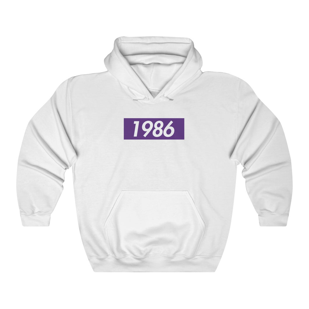 White Sigma Lambda Beta Supreme Box Logo Hoodie