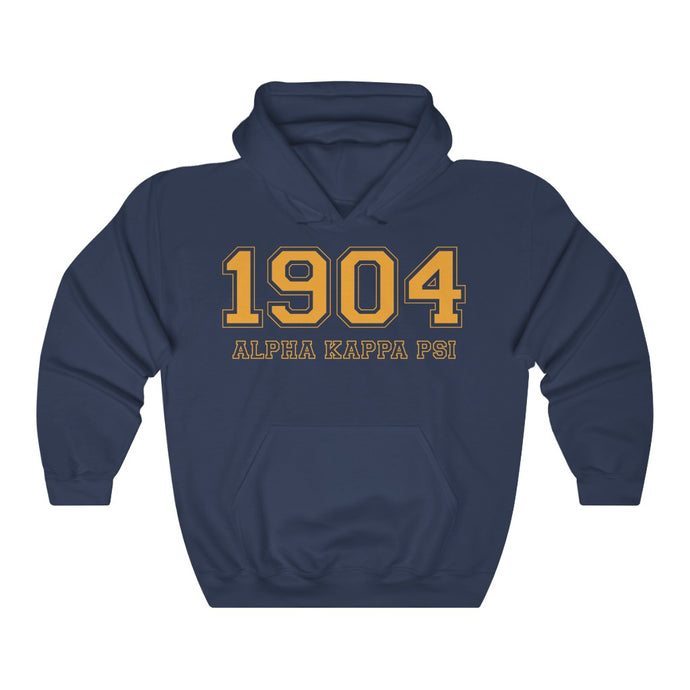 Alpha Kappa Psi Founding Year Hoodie (Navy)