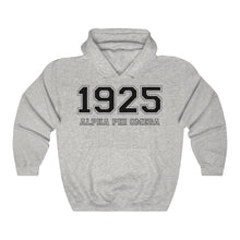 Load image into Gallery viewer, Alpha Phi Omega Founding Year Hoodie (Ash Grey)