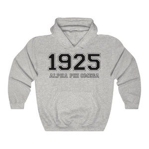 Alpha Phi Omega Founding Year Hoodie (Ash Grey)