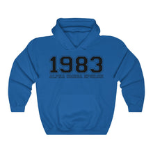Load image into Gallery viewer, Alpha Omega Epsilon Founding Year Hoodie (Royal)