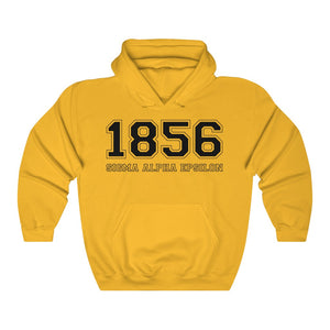 Sigma Alpha Epsilon Founding Year Hoodie (Gold)