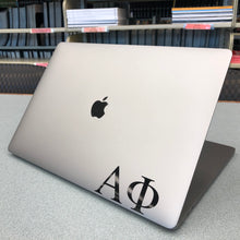 Load image into Gallery viewer, Alpha Phi Greek Letter Decal (Black)
