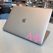 Load image into Gallery viewer, Alpha Phi Greek Letter Decal (Pink)